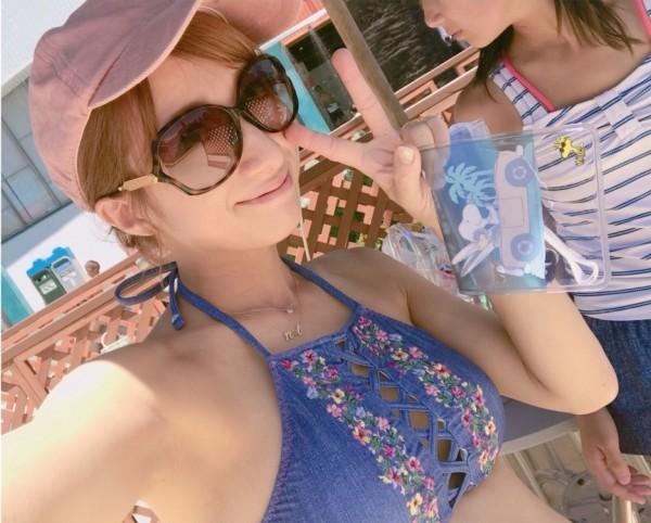【炎上】辻希美(31)過激ビキニをブログに投稿して大炎上…まんさん発狂して大バッシングの嵐…